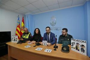 Torrevieja pone en marcha una campaña de Comercio Segura con Policía Local y Guardia Civil