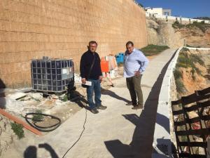 Se inician las obras de remodelación del paseo de Cabo Roig por un importe de 475.000 euros