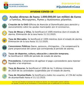 Pilar de la Horadada prepara una primera fase de hasta un millón de euros en ayudas directas a familias, micropymes, pymes y autónomos pilareños