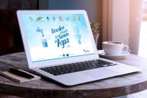 Aqualia diseña una web con actividades infantiles sobre el agua