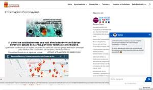 El Ayuntamiento de Almoradí pone en marcha una web con toda la información sobre el Coronavirus