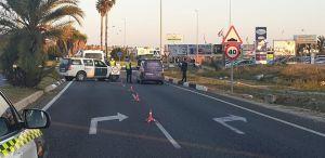 Se intensifican los controles de acceso a Torrevieja con el inicio de la Semana Santa