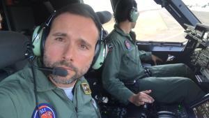 El Comandante del Airbus 400M del Ala 31 que trajo 14 toneladas de material sanitario de China para combatir el Coronavirus es de Rojales