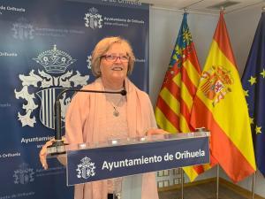 """Mayte Sánchez dimite como concejal en el Ayuntamiento de Orihuela por motivos """"personales y de salud"""""""