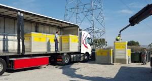 Orihuela repondrá 80 nuevos contenedores dañados en la DANA