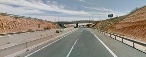 Herida una joven de 19 años en un accidente de tráfico en la AP-7 en Pilar de la Horadada