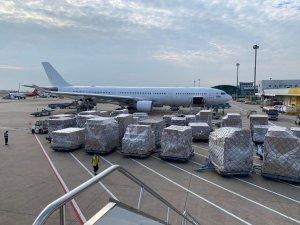 Llegan dos nuevos aviones con material sanitario procedente de China para la Comunidad Valenciana