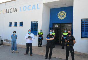 Orihuela refuerza la seguridad ciudadana con la incorporación de cuatro nuevos agentes de Policía Local