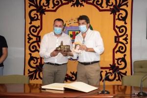 Carlos Mazón anuncia el apoyo que le darán a la reforma del Molino de Cox mediante una subvención provincial de 30.000 euros