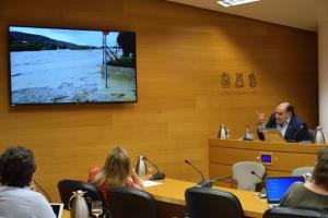El alcalde de Benferri presenta en las Cortes Valencianas sus propuestas para no sufrir las consecuencias en otro episodio de DANA