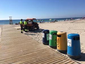 Orihuela refuerza el servicio de Limpieza Viaria y RSU con 44 nuevos trabajadores para la temporada alta