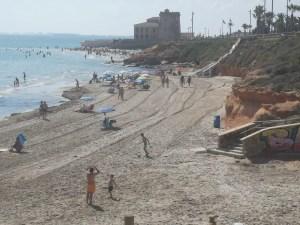 Pilar de la Horadada reabrirá sus playas este miércoles