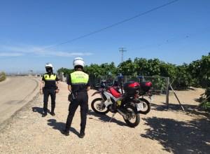 La Policía Local de Albatera comienza el refuerzo de la patrulla rural durante la campaña de la breva