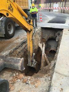La concejalía de Infraestructuras asegura que el principal problema del episodio de lluvias ha sido el arrastre de rocas y tierra de la sierra