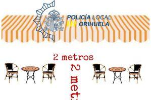 La Policía Local de Orihuela detiene a dos mujeres por no cumplir las normas de seguridad en un local que queda precintado