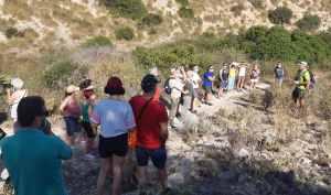 Éxito de participación en la primera ruta ecoturística de San Fugencio organizada por la Concejalía de Turismo