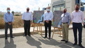 Ribera Salud visita los terrenos en los que proyectará el nuevo Centro de Salud de Orihuela Costa