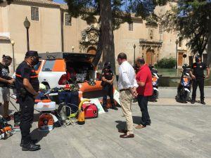 Orihuela presenta su dispositivo de Emergencias para el verano en el término municipal