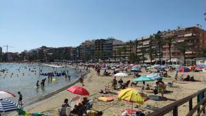 ¿Quién y cómo controla el aforo de las playas de Torrevieja?