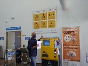 Vestuarios y gradas cerradas e itinerarios para garantizar la distancia: así es el protocolo en las instalaciones deportivas de Orihuela