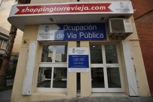 La Concejalía de Ocupación de la Vía Pública abre una nueva oficina en el centro de Torrevieja