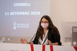 """Oltra: """"Los 100 millones del BEI servirán tanto para reconstrucción de las zonas afectadas por la DANA como para prevenir nuevos temporales"""""""