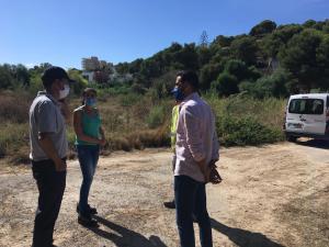 La CHS y el Ayuntamiento acondicionan las ramblas y cauces del litoral de Orihuela