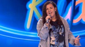 La guardamarenca Noelia Braceras conquista al jurado y público de Idol Kids