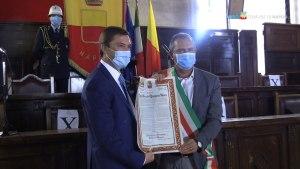 El cojense José Vicente Quirante Rives nombrado Ciudadano Honorario de Nápoles