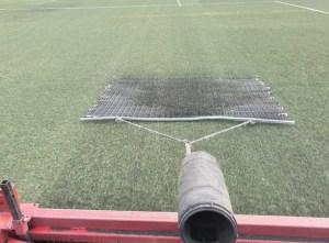 Callosa de Segura repara y desinfecta el campo de fútbol, tenis y pádel