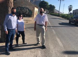 Redován solicita a la Conselleria la creación de carriles bici que unan la localidad con Orihuela y Callosa