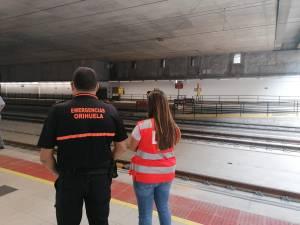 El Ayuntamiento de Orihuela, presente en el Plan de Autoprotección de las líneas de Alta Velocidad de Adif