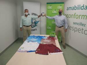 Caja Rural Central nuevo patrocinador del Sporting Alicante