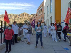 """CCOO reclama refuerzos para la Atención Primaria que está """"desbordada"""" en el Departamento de Salud de Orihuela"""