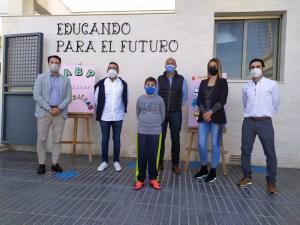 """El colegio público de Hurchillo ha presentado el proyecto """"Cerca de ti"""""""