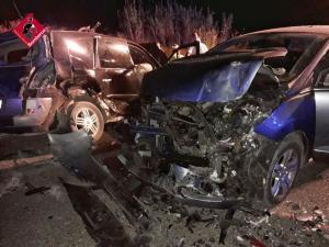 Dos fallecidos y cuatro heridos, entre ellos dos niñas, en un accidente en la N-340 en Cox