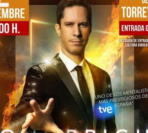 El mentalista Toni Bright actúa el 2 de diciembre en el Teatro Municipal de Torrevieja