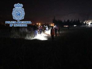Hallado con vida un desaparecido en Orihuela tras un amplio dispositivo de búsqueda coordinado por la Policía Nacional