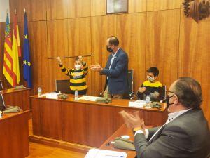 Los escolares plantean sus reivindicaciones en el Pleno infantil de Orihuela