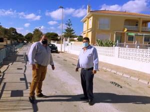 Adjudicado el proyecto de reposición de pavimentos en viales en las urbanizaciones La Zenia y La Regia en Orihuela Costa