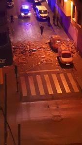 Detenido el hombre que presuntamente provocó una violenta explosión en un edificio de Torrevieja