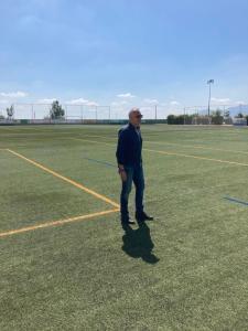 Deportes mejora el alumbrado del campo de fútbol de La Murada