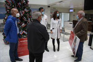 El Hospital de Torrevieja dona 6.000 kilos de productos de primera necesidad a Alimentos Solidarios Torrevieja