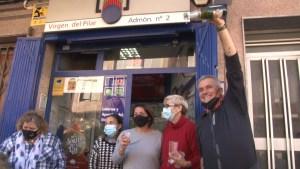 El segundo premio de la Lotería de Navidad deja 1,2 millones de euros en Callosa de Segura