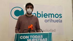 """Cambiemos Orihuela propone al Pleno suprimir la última ampliación de la zona azul que consideran una """"estafa"""""""