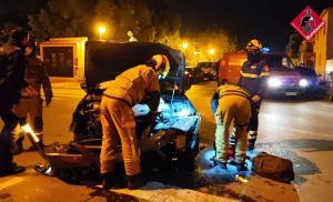 Dos heridos en un accidente de tráfico en Almoradí