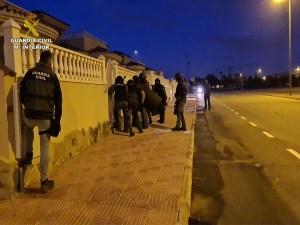 Desarticulada una organización relacionada con el tráfico de drogas en Europa Central que operada en la Vega Baja y Crevillente