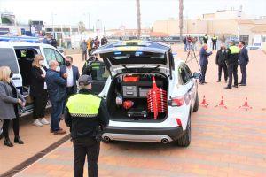 Vehículos de última generación para la Policía Local de Rojales