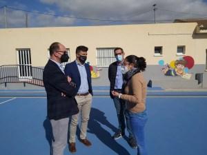 Finalizan las obras del Plan Edificant del CEIP de Molins y de la Escuela Infantil Virgen de Monserrate en Capuchinos