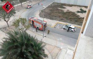 Se incendia un hotel abandonado en Catral